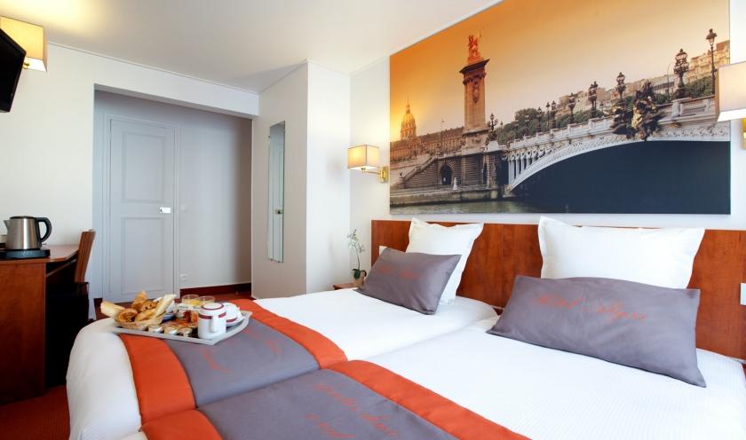 Hôtel Alyss Saphir Cambronne Eiffel – Nos chambres - Site officiel ...